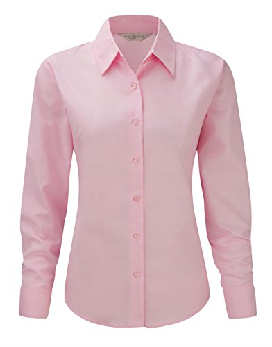 Sleeve Oxford Classique Long Shirt Collection Easy Care Russell Rose Womens vRqnp