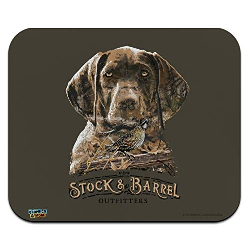 Stock and Barrel Outfitters Pointer Dog Quail Hunting Low Profile Thin Mouse Pad Mousepad
