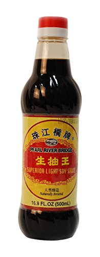 Soy Sauce Pearl River Bridge Superior Light ,16.9-Ounce Plastic Bottles