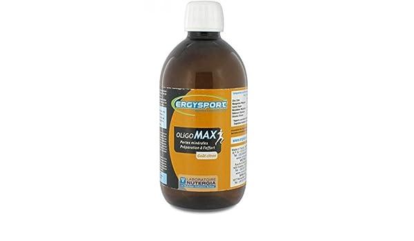 ergysport oligomax botella nutergia 500ml: Amazon.es: Salud y cuidado personal