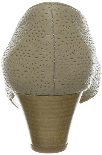 Geox - Zapatos de cuero para mujer Marrón (Marron (C6372))
