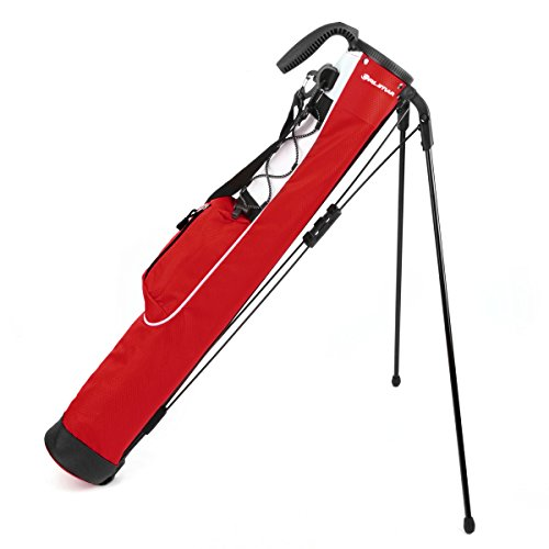 Orlimar Pitch & Putt Golf Lightweight Stand Carry Bag, Brick Red]()