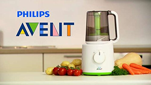 Philips-Avent-SCF87021-Combined-Baby-Food-Steamer-and-Blender