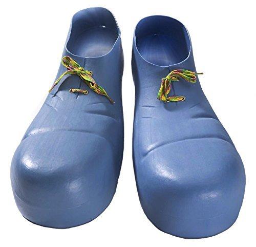 Bozo The Clown Shoes (Forum Novelties Jumbo Clown Shoes, Blue)