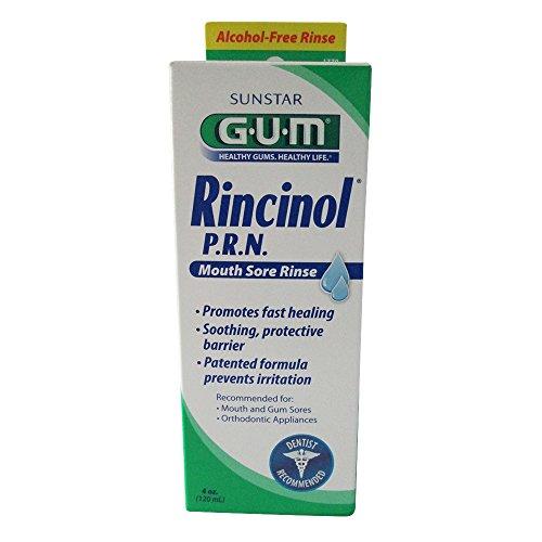 Gum Rinse - GUM Rincinol P.R.N Oral Rinse, 2 Count