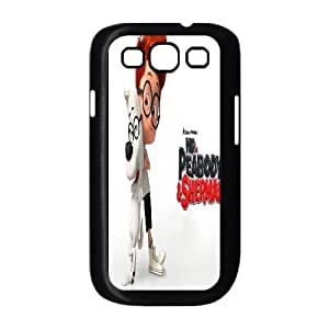 Preview Mr Peabody And Sherman funda Samsung Galaxy S3 9300 caja funda del teléfono celular del teléfono celular negro cubierta de la caja funda EEECBCAAL17102
