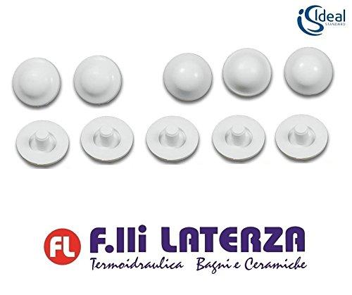 Juego de 6+4 unidades:.Almohadillas paragolpes para inodoro Ideal Standard originales Art.T203500