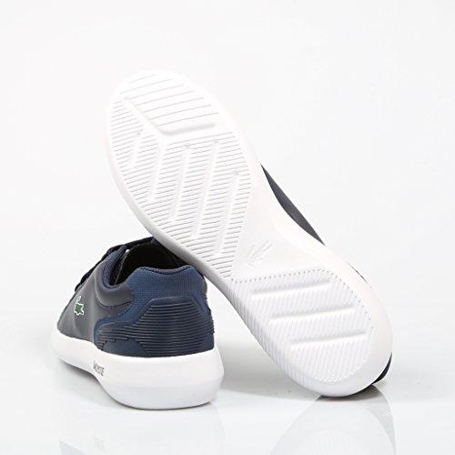 Lacoste Baskets Pour Homme Bleu Marine