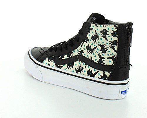 Slim Vans Sneaker Unisex U Schwarz Erwachsene Hightop Zip hi Sk8 qtOTH