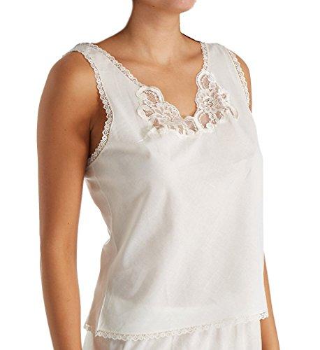 Shadowline Cotton Batiste Camisole (4536) 36/Ivory