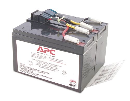 APC RBC48 OEM REPLACEMENT BATTERY FOR APC UPS 1 YR WARRANTY by APC