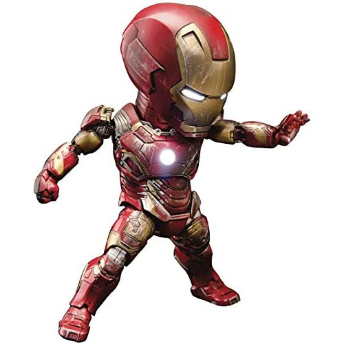 chollos oferta descuentos barato Beast Kingdom Marvel Figura Egg Attack Iron Man Mark XLIII Multicolor BKDEAA 004
