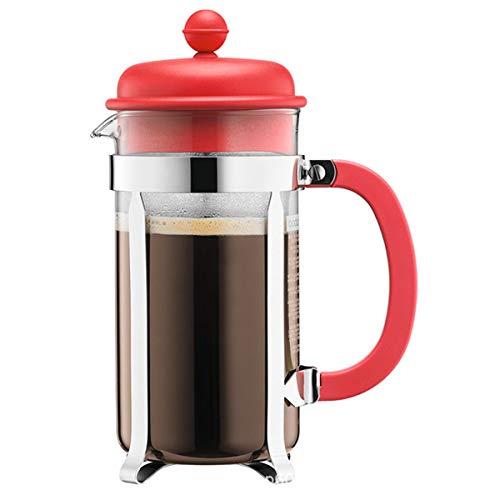 Cafetera De Émbolo Francesa, Olla De Café De Vidrio De 1000 Ml Mini Olla De Prensa De Filtro Cafetera Casera Fácil De…