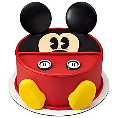 DecoPac Decorating 23291 MICKEY-CREATIONS Cake Topper for Birthdays and Parties, 1 SET, Multiple: Kitchen & Dining