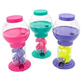 Kicko 9.75 Inch Twirling Gumball Machine for Kids - Galaxy Candy Dispenser - for Birthdays, Kiddie Parties, Christmas, Novelties, Kitchen Buffet, Party Favors and Supplies
