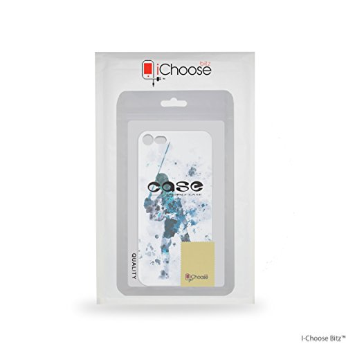 iPhone 7 Star Wars Arte de Fan Estuche de Silicona / Cubierta de Gel para Apple iPhone 7 (4.7) / Protector de Pantalla y Paño / iCHOOSE / Obi Wan Kenobi Luke Skywalker