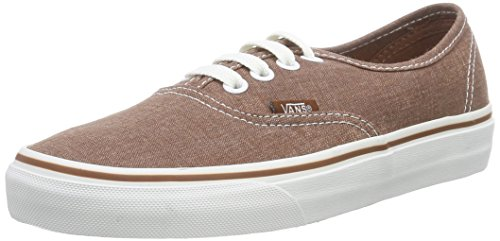 Unisex Marrone Sneakers Authentic Washed U Vans Washed Brown 7xqvITnX