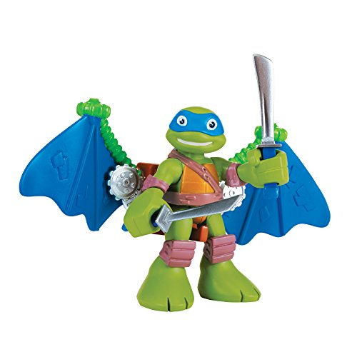 Teenage Mutant Ninja Turtles Pre-Cool Half Shell Heroes Leonardo with Glider Figure