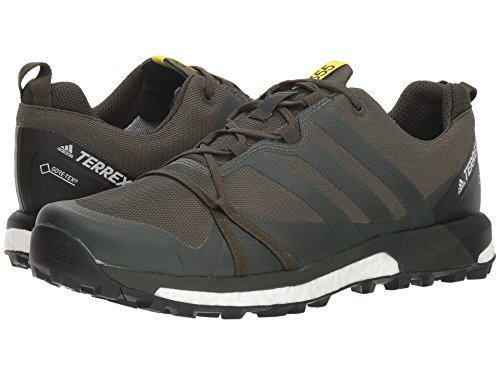 [adidas(アディダス)] メンズランニングシューズ?スニーカー?靴 Terrex Agravic GTX Base Green/Base Green/Shock Yellow 13 (31cm) D - Medium