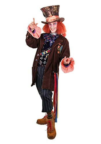elope Disney's Alice Through the Looking Glass Mad Hatter Replica Costume Mens -