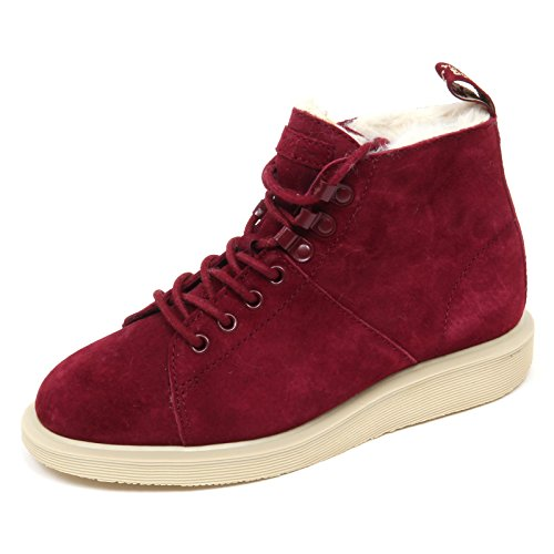 Fl Woman Boot Martens Sneaker Shoe Vino Rosso Les Donna D2026 Dr 1xYwzxq