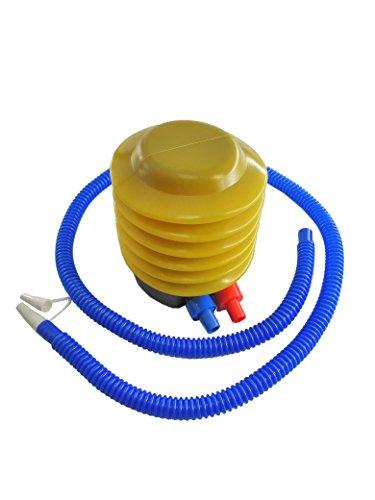 (FixtureDisplays Plastic Bellows Foot Pump, Balloon Pump, Hand Pump, Air Pump, Bottle Bubble Cushion Inflator, Sports Inflatable Deflatable Yoga Exercise Balls 16986-NPF)