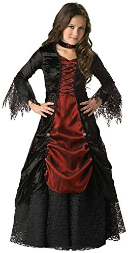 In Character Costumes 32504 Gothic Vampira Elite Collection Child Costume Size 6 by InCharacter ()
