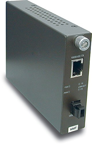 TRENDnet 100Base-TX to 100Base-FX Multi Mode MT-RJ Fiber Con