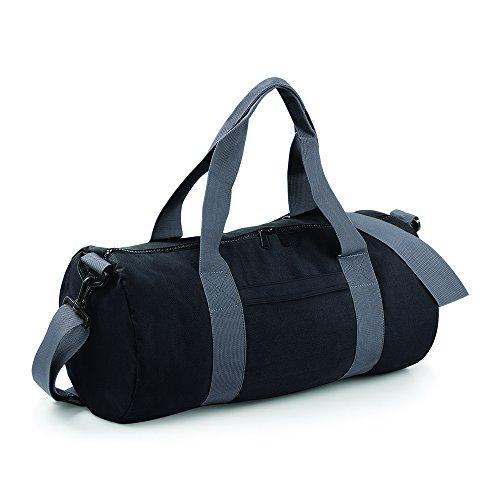 Grey Black barrel BagBase Original bag 1x7H4wX6q