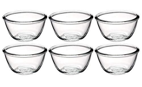 Platina Yera Glassware Lumino Glass Bowl Set, pieces , 170ml