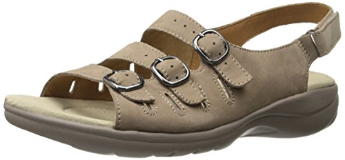 Clarks Womens Saylie Medway Sandalo Taupe