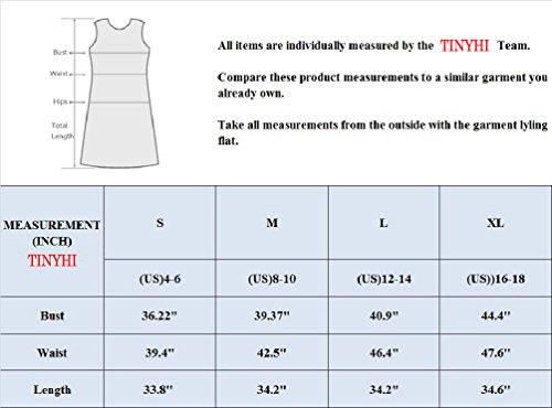 692be49a5095 TINYHI Women's Casual Plain Long Sleeve Simple Tshirt Loose Dress