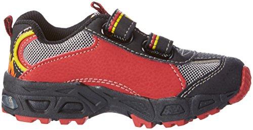 Lico Hot V Blinky - zapatilla deportiva de material sintético niños rojo - Rot (rot/schwarz/gelb)