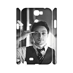 TOSOUL James Andrew McAvoy Phone 3D Case For Samsung Galaxy Note 2 N7100 [Pattern-3]