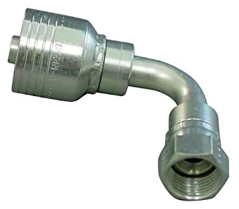 Hydraulic Hose Fitting 90 Degree 1  sc 1 st  Amazon.com & Amazon.com: Hydraulic Hose Fitting 90 Degree 1: Industrial ...
