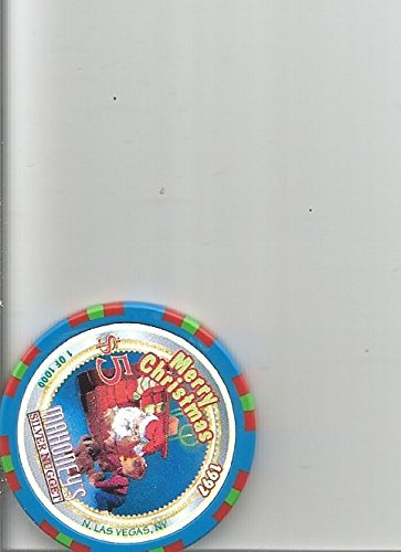 $5 mahoney's silver nugget casino 1997 christmas new year las vegas casino chip