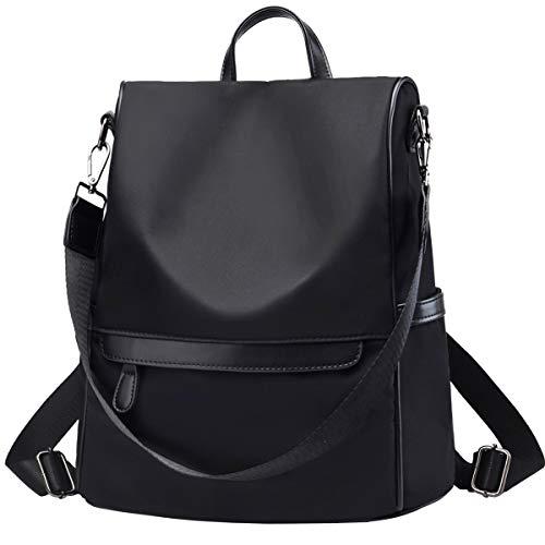 Anti Theft Rucksack Nylon Waterproof Daypack Lightweight School Shoulder Bags