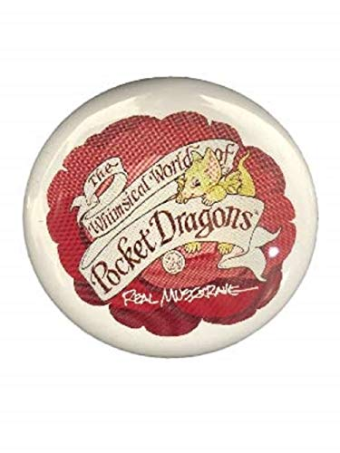Red and White Pocket Dragon Pin