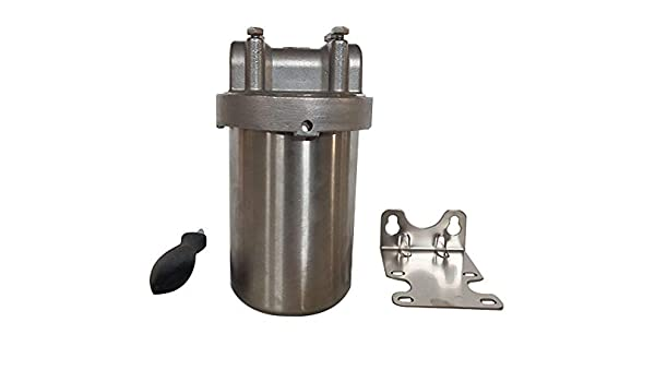 "3//4/""NPT pack of 2 Stainless Steel Filter Housing for 20/""L cartridges"