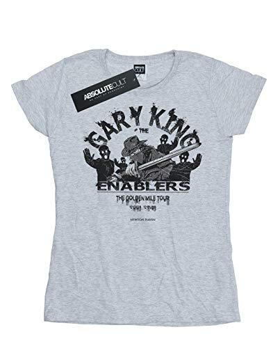 Mujer Alex Deporte Gris Gary Chenery Small Camiseta King WqafUW4