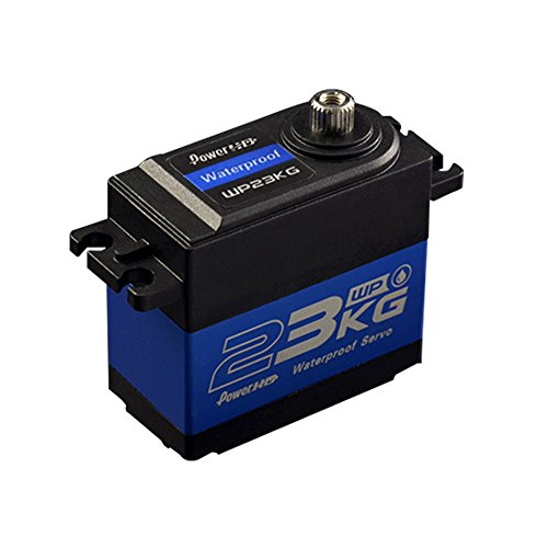 Power HD WP-23KG Waterproof High Torque Metal Gear Digital Servo 23KG/0.12S 6V For Buggy Crawler Truck RC (High Torque Series)