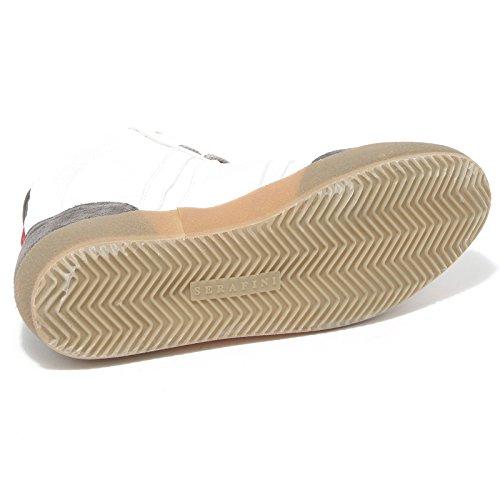 69434 sneaker SERAFINI LUXURY BASKET VINTAGE scarpa uomo shoes men Bianco/Grigio De Italia Precio Bajo El Envío Libre isNEHP3K7