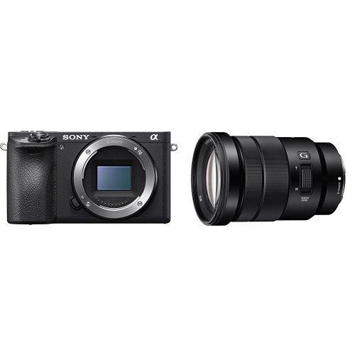 Sony Alpha a6500 Mirrorless Digital Camera w/SELP18105G E PZ