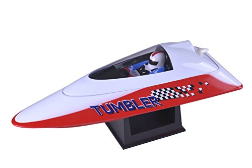 Pool Racer - POCO DIVO 2.4Ghz Tumbler Pool Racer RC Racing Boat Radio Control Mini Mosquito Craft - Red