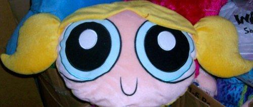 Powerpuff Girls, Bubbles Doll, Plush Pillow Doll (Barney Bubble)