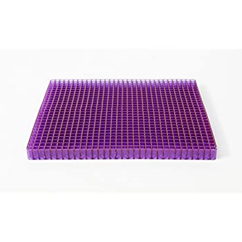 Purple Seat Cushion Portable - Seat Cushion For The Car Or Office Chair - Can Help In Relieving Back Pain & Sciatica Pain
