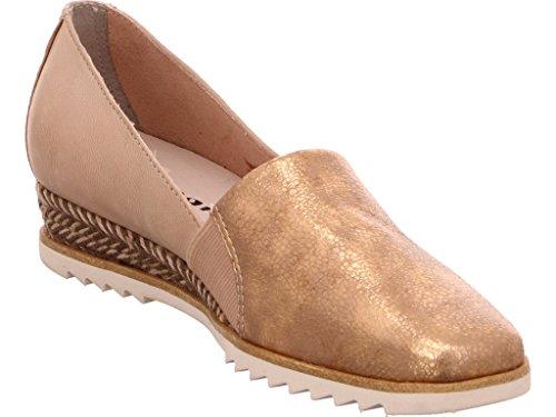 Pettine Rosa (metallizzato) Rosa Tamaris Damen Keil-slipper