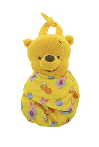 Disney Parks Baby Winnie the Pooh Bear in a Pouch Blanket Plush Doll from disney