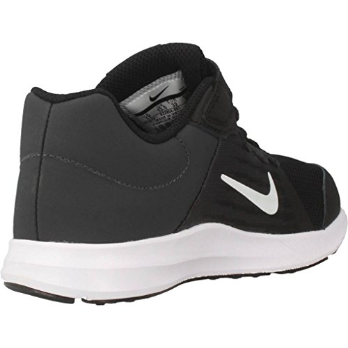 Nike Downshifter 8 (PSV), Chaussures de Running Compétition Garçon Noir - Blanc