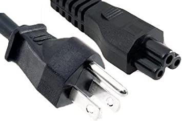 NEW NEC NP40 NP41 NP43 DLP Projector AC Power Cord Cable Plug Black